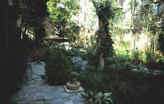 View of the garden, 1994.