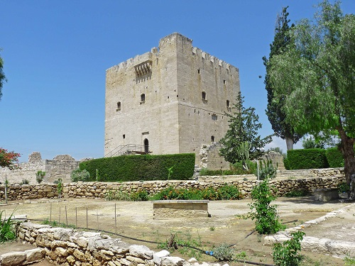 Kolossi, the medieval castle 'La Grande Commandarie'.