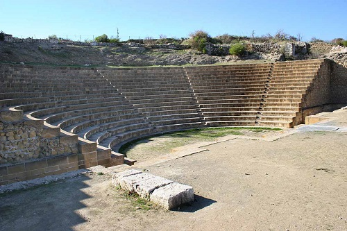 Soloi, the ancient theatre.