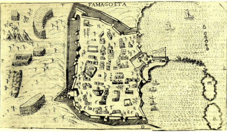 Cartography of Famagusta