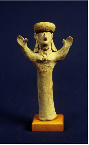 Lefkosia, Female figurine.