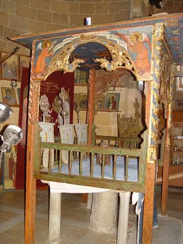 Morphou, church of Agios Mamas, the Holy Altar