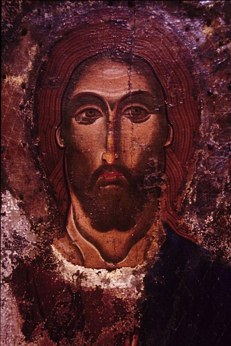 Agros, church of Panagia Agriotissa, icon of Jesus Christ.