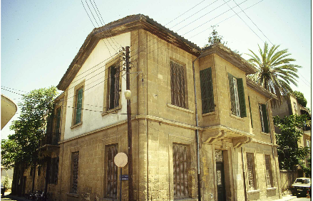 Lefkosia, Residence of Kostas Christodoulou, Centre of Cultural Heritage, Spring 1993.
