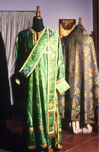 Palaichori, The Museum of the Byzantine Heritage of Palaichori, Deacons vestments.