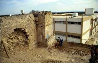 Excavations at the medieval water mill of Geroskipou.
