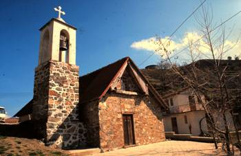 Palaichori, church of Agia Sotira.